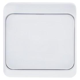 Выключатель накладной Schneider Electric Этюд 1 клавиша, цвет белый