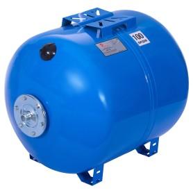 Гидроаккумулятор горизонтальный 100 л, фланец оцинкованная сталь