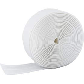 Лента шторная параллельная 67 мм цвет белый