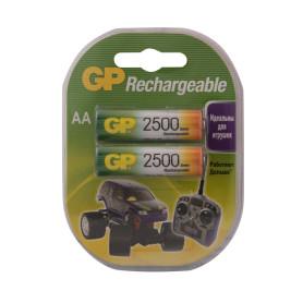 Аккумулятор GP AA Ni-Mh,2500 мА/ч, 2 шт.