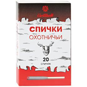 Спички охотничьи Grillkoff, 20 шт.