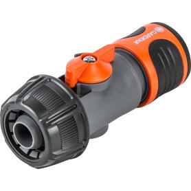 Коннектор для шланга быстросъёмный регулируемый Gardena 3/4 дюйма