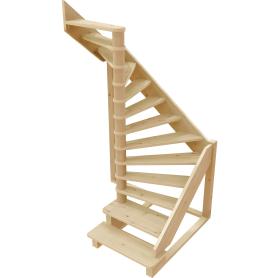 Лестница поворотная на 180° ЛС-01У, универсальная