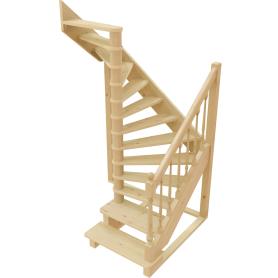 Лестница поворотная на 180° ЛС-04У, универсальная