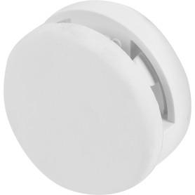 Зеркалодержатель мебельный 36 мм, пластик, цвет белый 4 шт.