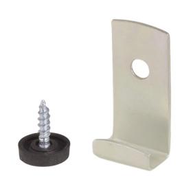Крепление для зеркала мебельное, металл, цвет хром, 4 шт.