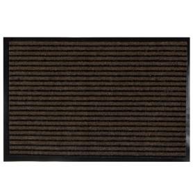Коврик придверный «Grattant» полипропилен/ПВХ 60x90 см цвет коричневый