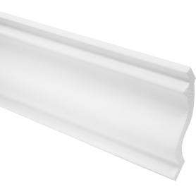 Плинтус потолочный K 200х8 см цвет белый
