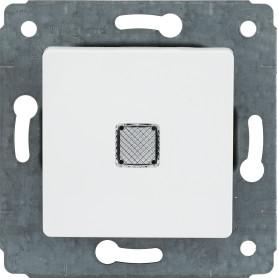 Выключатель встраиваемый Legrand Cariva 1 клавиша с подсветкой, цвет белый