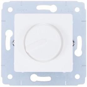 Диммер встраиваемый Legrand Cariva 300 Вт (для ламп накаливания и галогенных) цвет белый