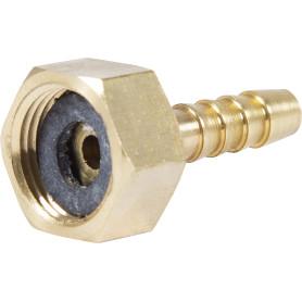 Штуцер для шланга BOUTTE 3/8 дюйма x 6 мм. внутренняя резьба