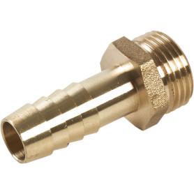 Штуцер для шланга BOUTTE  3/8 дюйма x 10 мм. наружная резьба