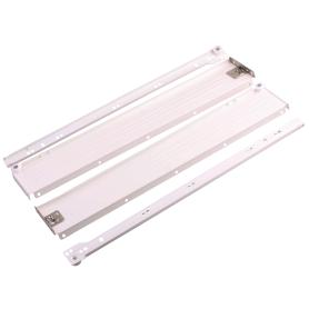 Направляющая роликовая Boyard MB08601 86x500 мм, металл, цвет белый