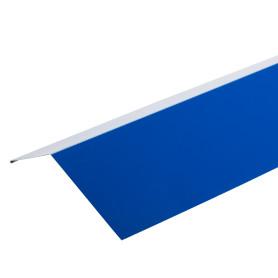 Планка карнизная с полиэстеровым покрытием 2 м цвет синий
