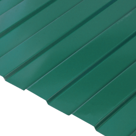 Профнастил С8 0.35 мм 1200х2000 мм зелёный RAL 6005