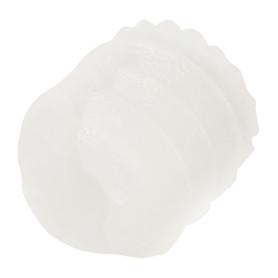 Дюбель мебельный 6 мм, пластмасс, цвет белый, 4 шт.