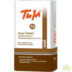 Клей ТиМ Гранит №36, 25 кг