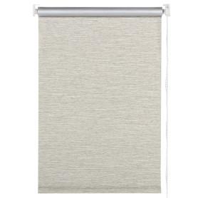 Штора рулонная «Штрихи» светонепроницаемая 100х175 см цвет коричневый