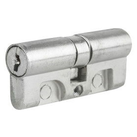 Цилиндр ключ/ключ 30х30 хром, МЦ1-6