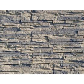 Облицовочный камень Иль-Кампо, цвет серый, 0.6 м2