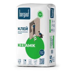 Клей для керамической плитки Bergauf Keramik, 25 кг