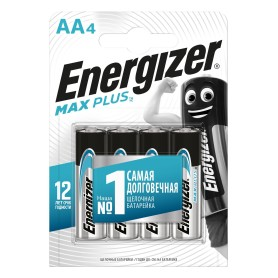 Батарейка алкалиновая Energizer Maximum AA/LR6, 4 шт.