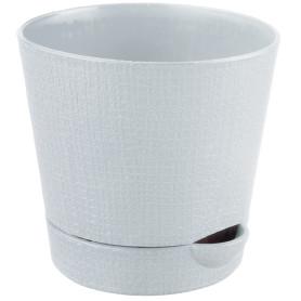 Горшок цветочный «Партер» D9, 0, 35л., пластик, Бежевый