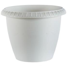 Горшок цветочный «Жардин» D45, 28, 8л., пластик, Серый / Серебристый