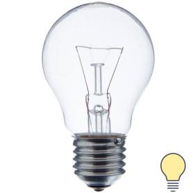 Лампа накаливания Osram шар E27 60 Вт прозрачная свет тёплый белый