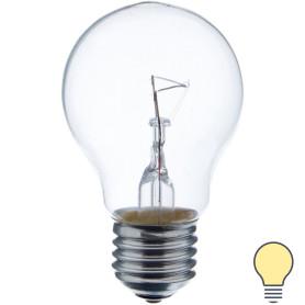 Лампа накаливания Osram шар E27 75 Вт прозрачная свет тёплый белый