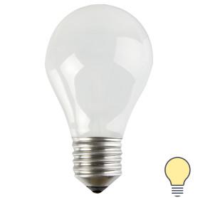 Лампа накаливания Osram шар E27 75 Вт матовая свет тёплый белый