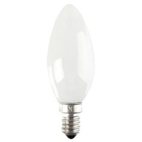 Лампа накаливания Osram E14 230 В 60 Вт свеча матовая 3 м2 свет тёплый белый