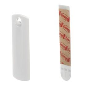 Крючок для рамок Command с твердой петлёй, пластик, цвет белый, 1 шт.