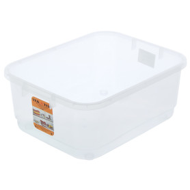Ящик многофункциональный 42x16.5x32 см, пластик цвет прозрачный без крышки