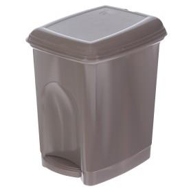 Бак для мусора с педалью Каплен 7 л