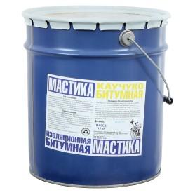 Мастика битумная каучуковая 17 кг