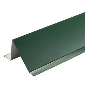Планка снегозадержания с полиэстеровым покрытием 2 м цвет зелёный