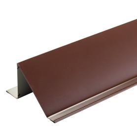 Планка снегозадержания с полиэстеровым покрытием 2 м цвет коричневый