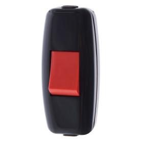 Выключатель проходной цвет черный