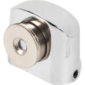 Стопор дверной Apecs DS-2751, ЦАМ, цвет хром