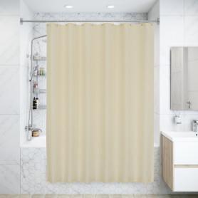 Штора для ванной комнаты «Dagha» 180x180 см цвет бежевый