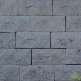 Облицовочный камень Доломит, цвет серый, 0.6 м2