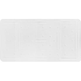 Коврик для ванны, 36х71 см, цвет белый