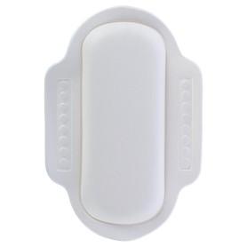 Подголовник для ванны, 25х34 см, цвет белый