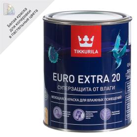 Краска Tikkurila Euro-20 цвет белый 0.9 л