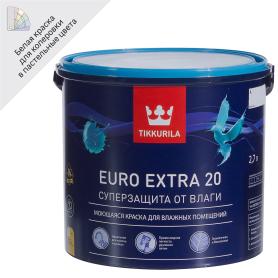 Краска Tikkurila Euro-20 база А 2.7 л