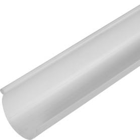 Желоб водосточный 130x3000 мм цвет белый
