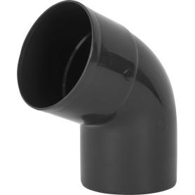 Отвод на 67° для трубы 80 мм цвет коричневый