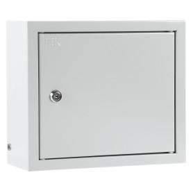 Щит металлический IEK ЩРн-12з-1 на 12 модулей, 265х310х120, IP31