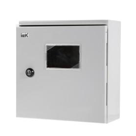 Щит металлический IEK ЩУ 1/1-0 74 У1 на 6 модулей, IP66